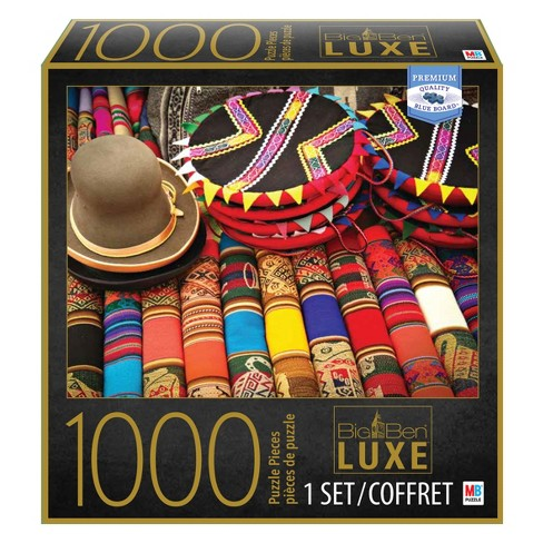 1000pc Big Ben Luxe Puzzle - Market in Peru - image 1 of 1