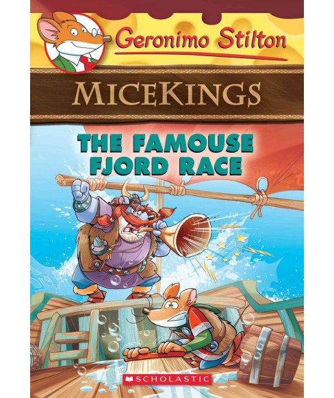 Famouse Fjord Race (Paperback) (Geronimo Stilton) - image 1 of 1