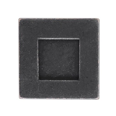 Sumner Street Home Hardware 0.625 4pc Knob Oil-Rubbed Bronze Rhombus Cube