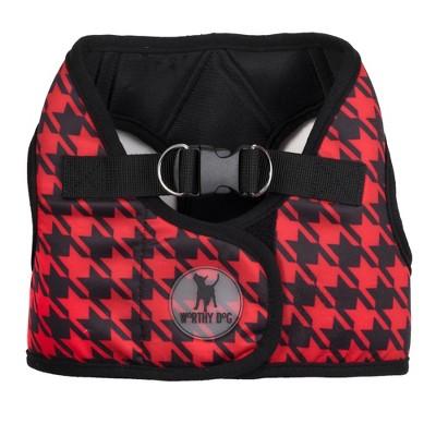 The Worthy Dog Houndstooth Sidekick Harness Vest
