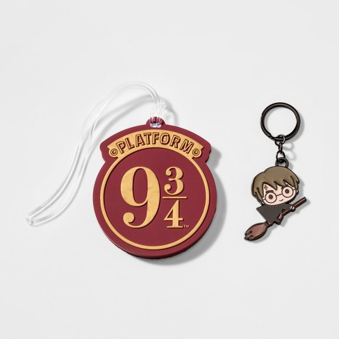 Boys' Harry Potter Luggage Tag and Key Chain Set - image 1 of 1