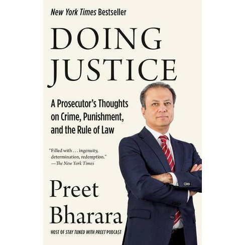 Doing Justice - by  Preet Bharara (Paperback) - image 1 of 1