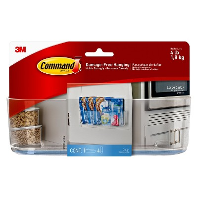 Command™ Clear Large Caddy, 1 Caddy/Pack