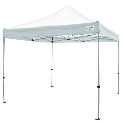 Caravan Canopy TitanShade 10 x 10 Steel Frame Portable Instant Canopy Kit, White