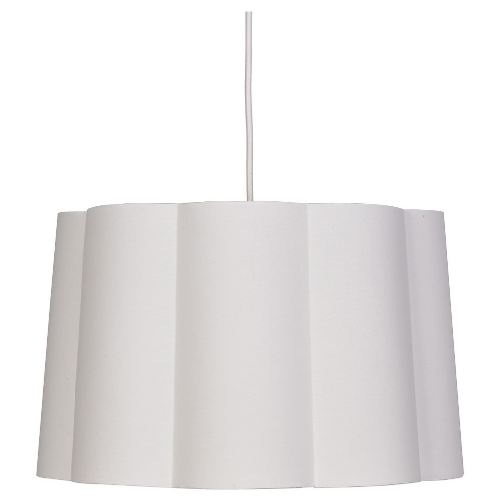 Scalloped Ceiling Light White - Pillowfort was $69.99 now $34.99 (50.0% off)