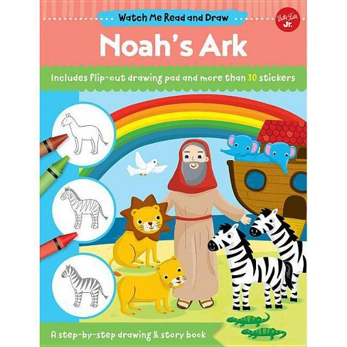 Watch Me Read and Draw: Noah's Ark - (Paperback)