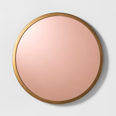 Round Wall Mirror - Cloud Island™ Gold