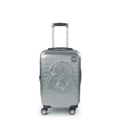 "FUL Star Wars Darth Vader Embossed 21"" Spinner Suitcase - Silver"