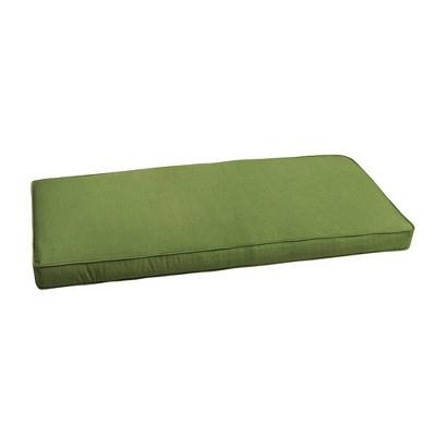 Sunbrella Outdoor Bench Cushion Cilantro Green