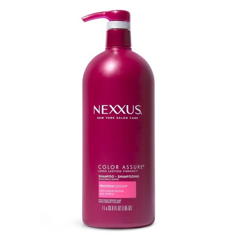 Nexxus Color Assure Sulfate-Free Shampoo For Color-Treated Hair with ProteinFusion - 33.8 fl oz - image 1 of 4