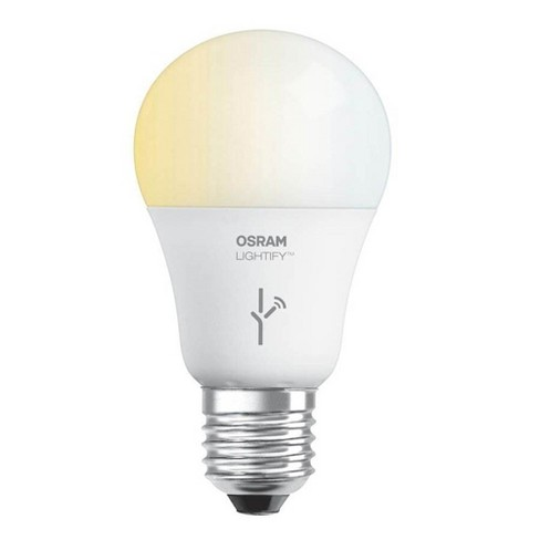 Sylvania Osram Lightify 60 Watt A19 Tunable White Smart Home LED Light Bulb - image 1 of 4