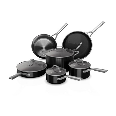Ninja Foodi NeverStick 11pc Nonstick Cookware Set - Black