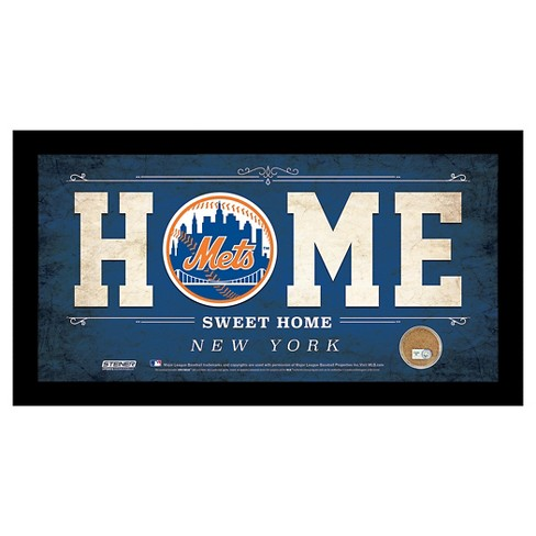 New York Mets Steiner Sports Home Sweet Home Sign 6x12 Inch Target