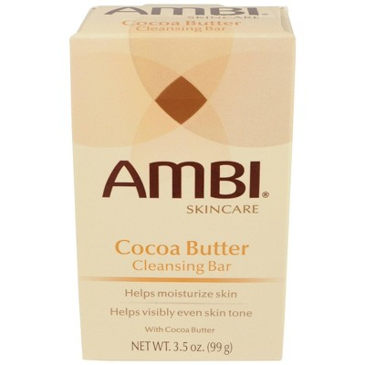 AMBI Cocoa Butter Cleansing Bar - 3.5oz
