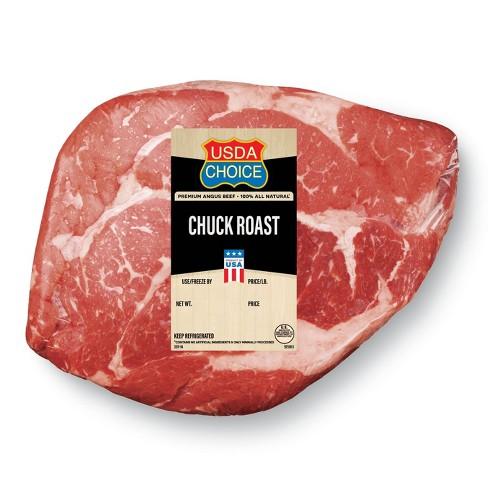 USDA Choice Angus Beef Boneless Chuck Roast - 1-5lbs - priced per lb - image 1 of 1