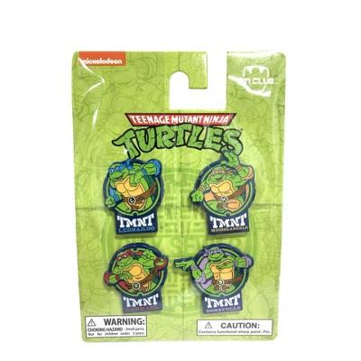 Teenage Mutant Ninja Turtles Collectible Pin Set 4pk