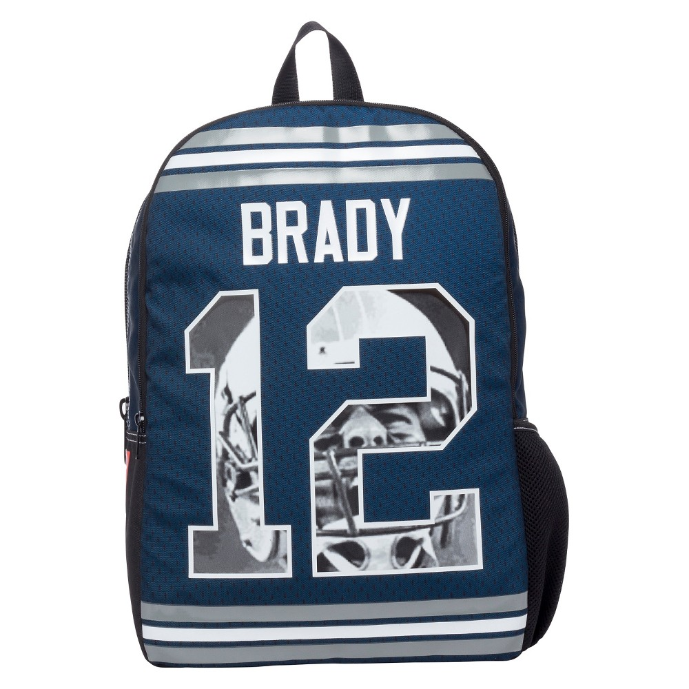 Nflpa All American Tom Brady #12 Backpack, Blue