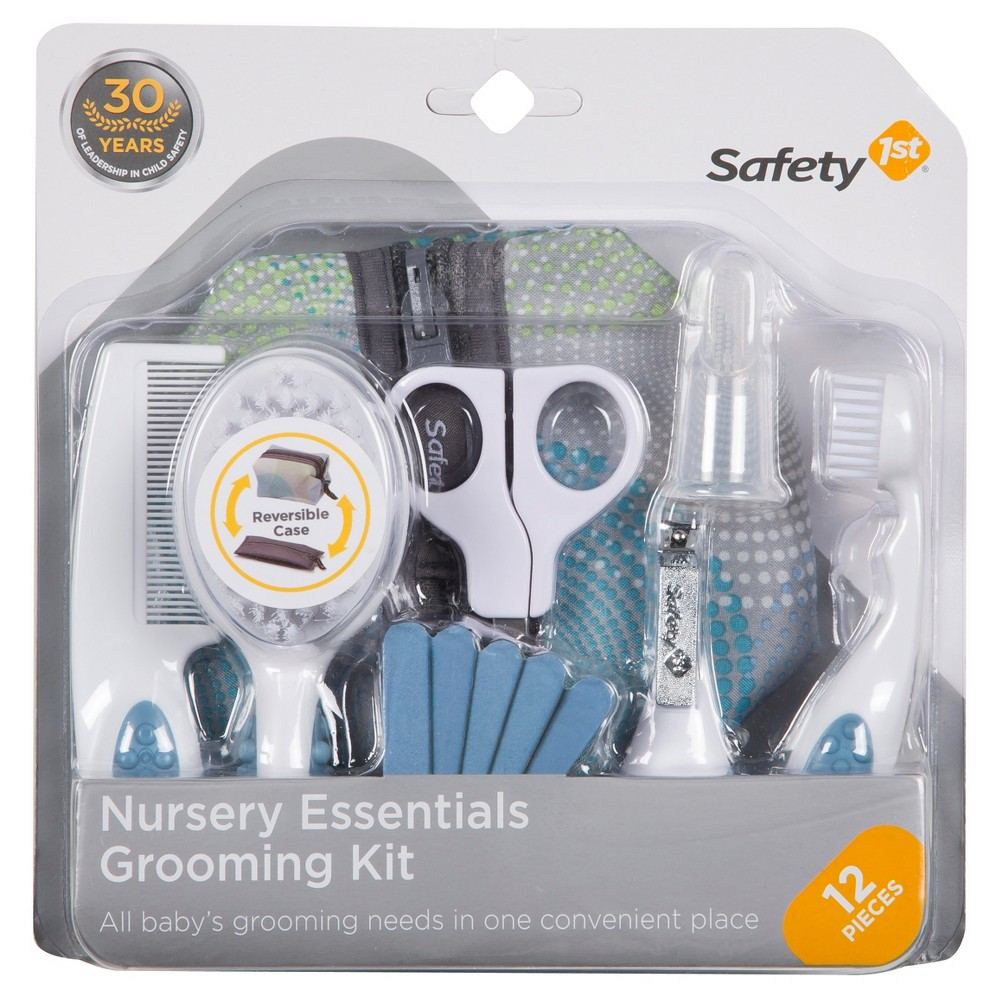 Safety 1st Nursery Essentials Grooming Kit - White, Green