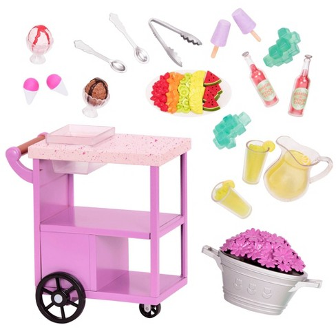 Our Generation Medium Accessory - Summer Treats Trolley - image 1 of 3