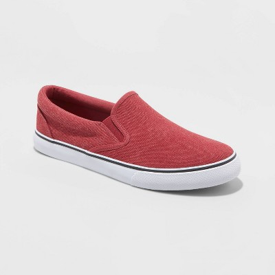 Men's Phillip Slip On Sneakers - Goodfellow & Co™ Red