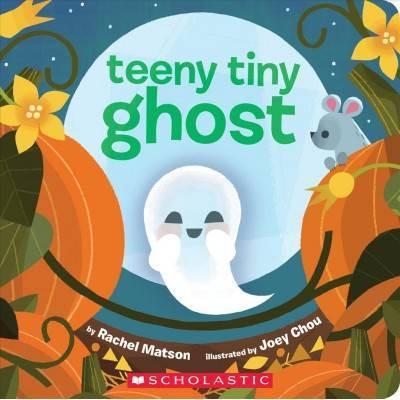 Teeny Tiny Ghost - by Rachel Matson (Board Book)
