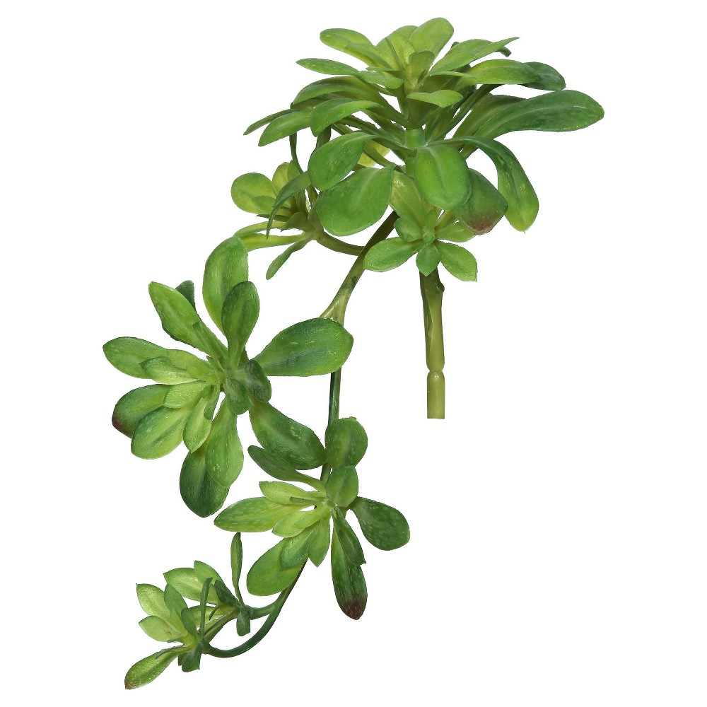 Artificial (Pk/3) Aeonium Spray (11) Green - Vickerman