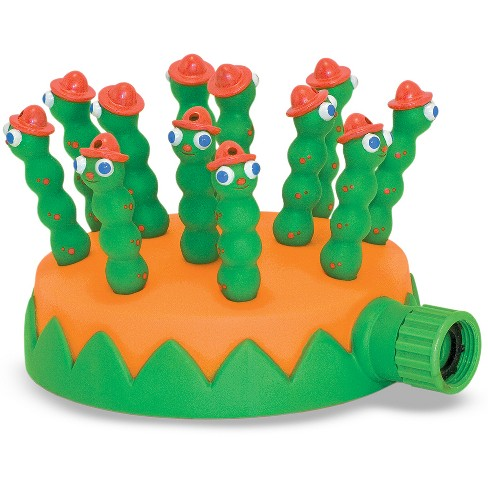 Melissa & Doug® Sunny Patch Grub Scouts Sprinkler Toy With Hose Attachment - image 1 of 2