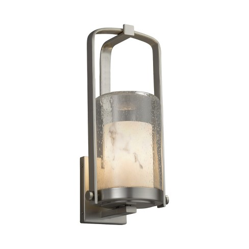 """Justice Design Group FAL-7581W-10-LED1-700 LumenAria Single Light 12-1/2"""" High Integrated 3000K LED Outdoor Wall Sconce - image 1 of 1"""
