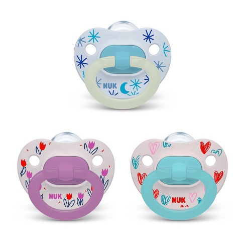 NUK Pacifier Assorted Size 6-18 months Value Pack - 3pk - image 1 of 4