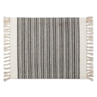 Black Stripe Placemat - Threshold™