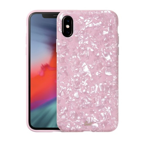 sale retailer 49767 f865b LAUT Apple iPhone X/XS Case - Pink Pearl
