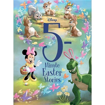 5Minute Easter Stories (5Minute Stories) - by Disney (Hardcover)