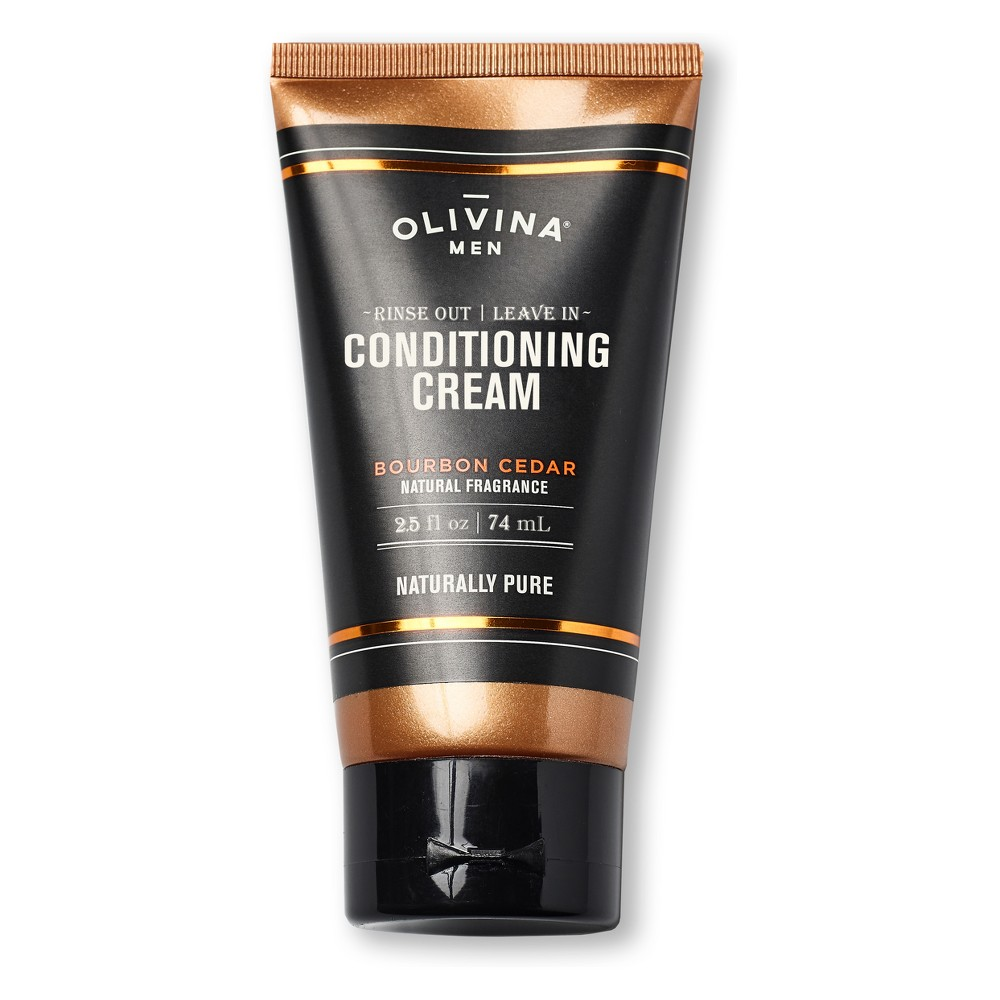 Image of Olivina Bourbon Cedar Conditioning Cream for Men - 25 fl oz