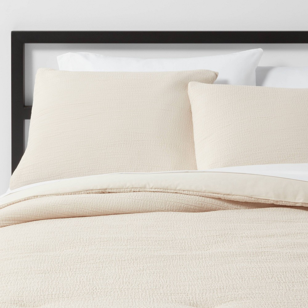 Twin Twin Extra Long Micro Texture Comforter Set Neutral Project 62 8482 Nate Berkus 8482
