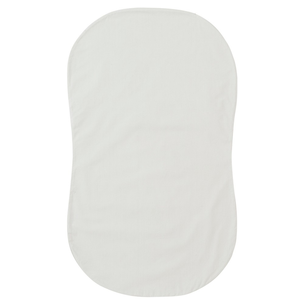 Image of Halo Bassinest Fitted Sheet - Gray