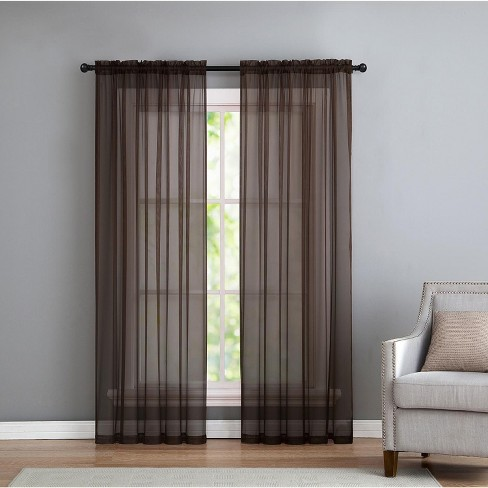 VCNY Home Infinity Sheer Curtain Panel - image 1 of 1