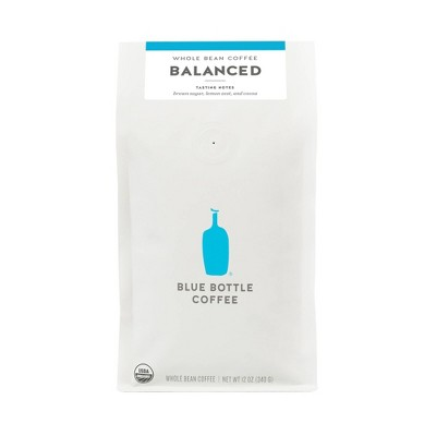 Blue Bottle Balance Whole Bean Medium Roast Coffee - 12oz
