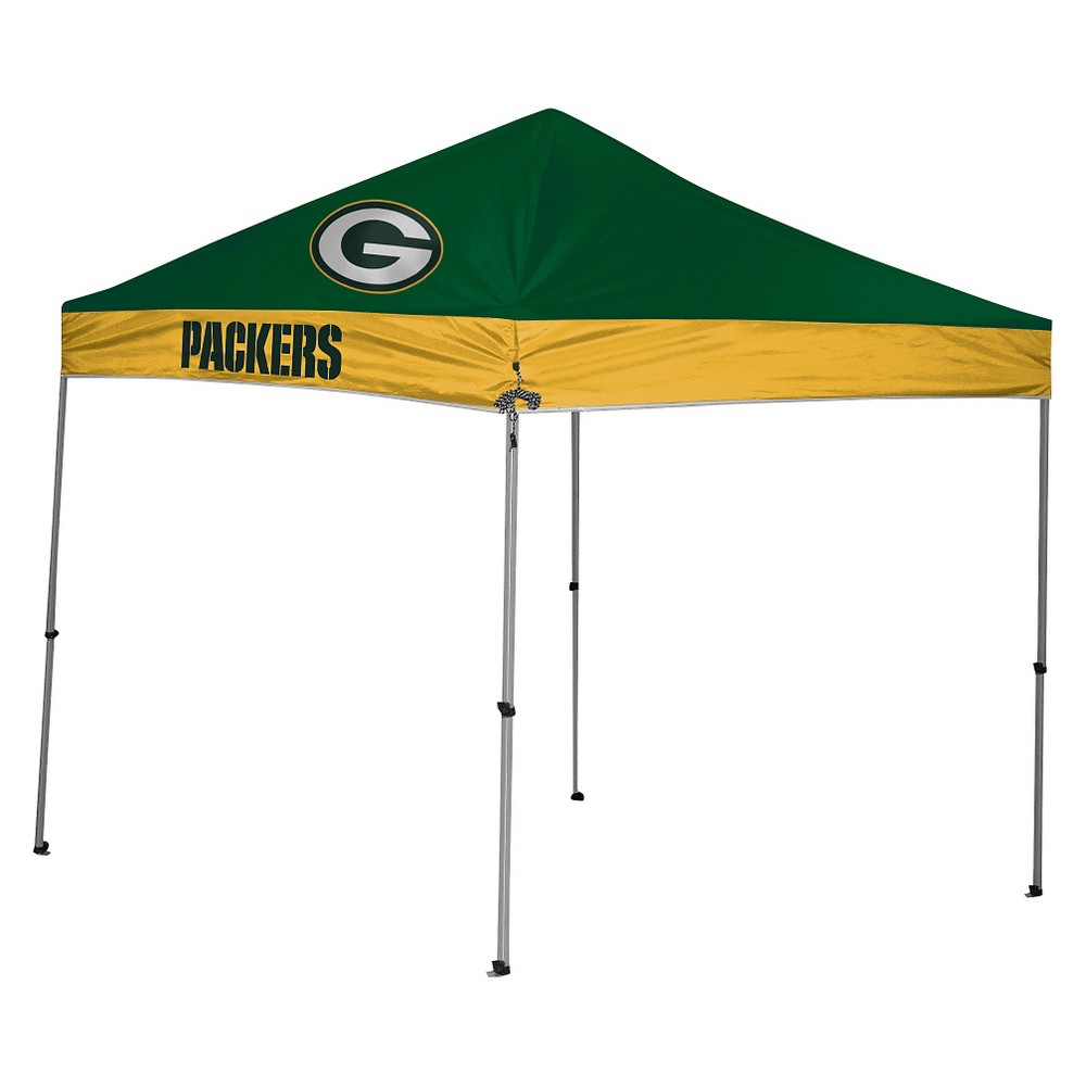 Rawlings NFL Green Bay Packers 9'x9' Straight Leg Canopy Tent