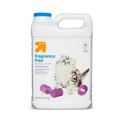Fragrance Free Clumping Cat Litter - 20lbs - up & up™