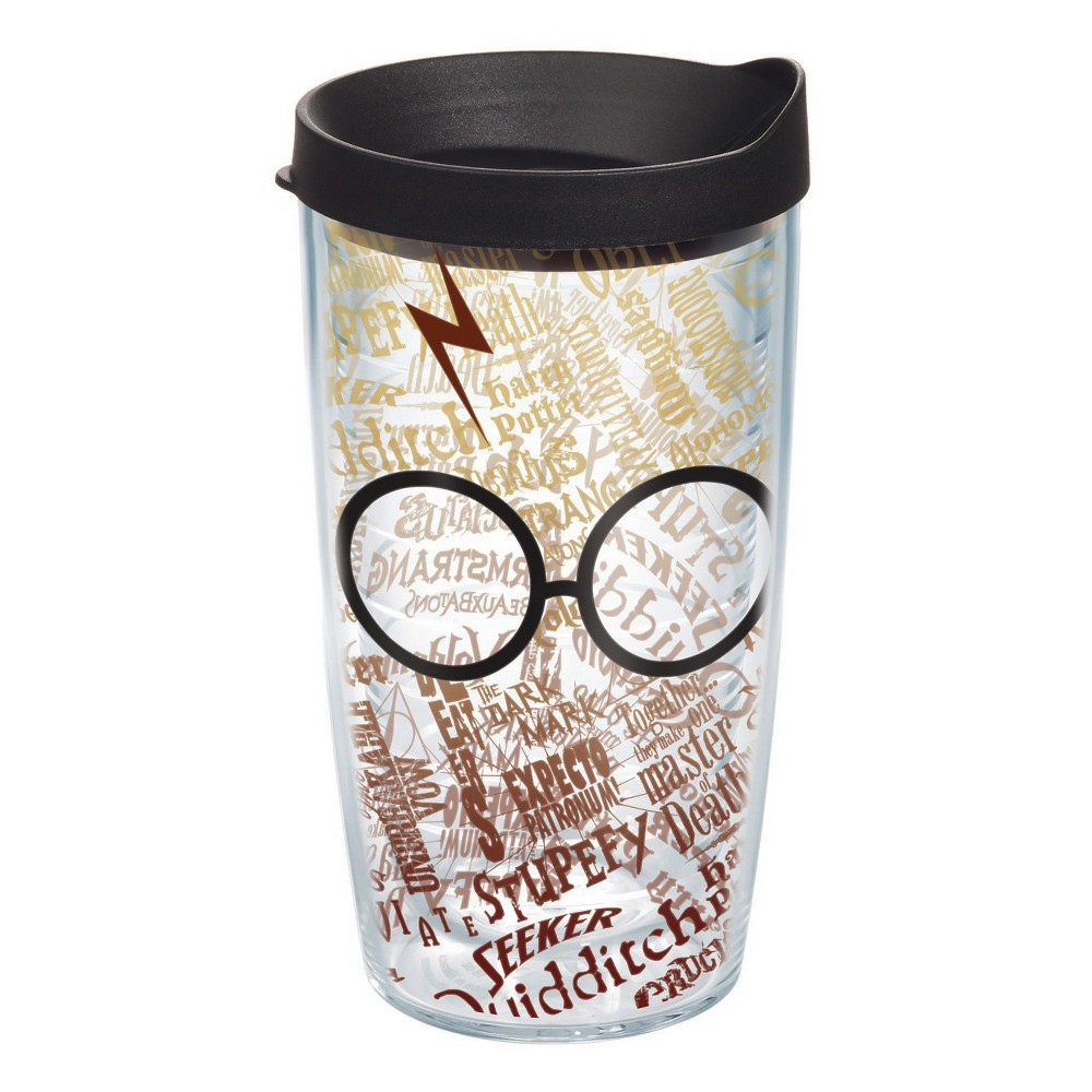 Tervis Harry Potter Glasses and Scar Tumbler 16oz, Multi-Colored