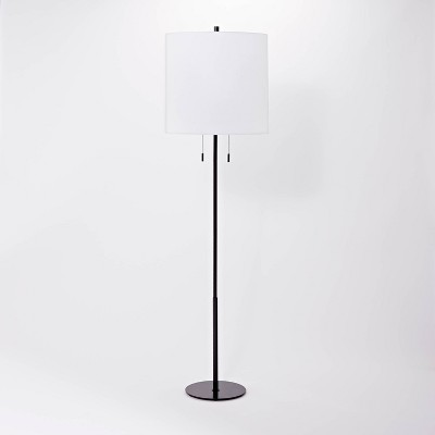 Tapered Shade Metal Floor Lamp (Includes LED Light Bulb) - Threshold™ designed with Studio McGee