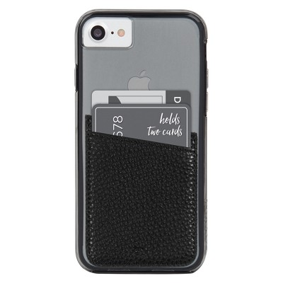 Case-Mate Cell Phone Wallet Pockets - Black