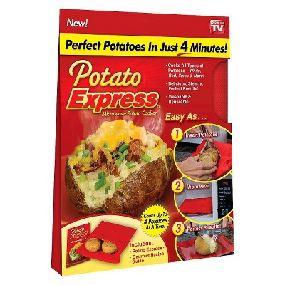 As Seen on TV Potato Express Microwave Potato Cooker