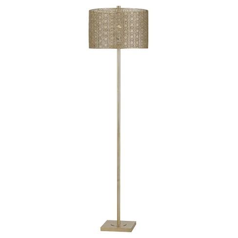 Cal lighting falfurrias classic contemporary metal floor lamp warm about this item aloadofball Choice Image