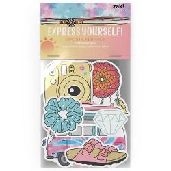 Zak! Designs Vinyl Sticker Set 24pc - VSCO Girls