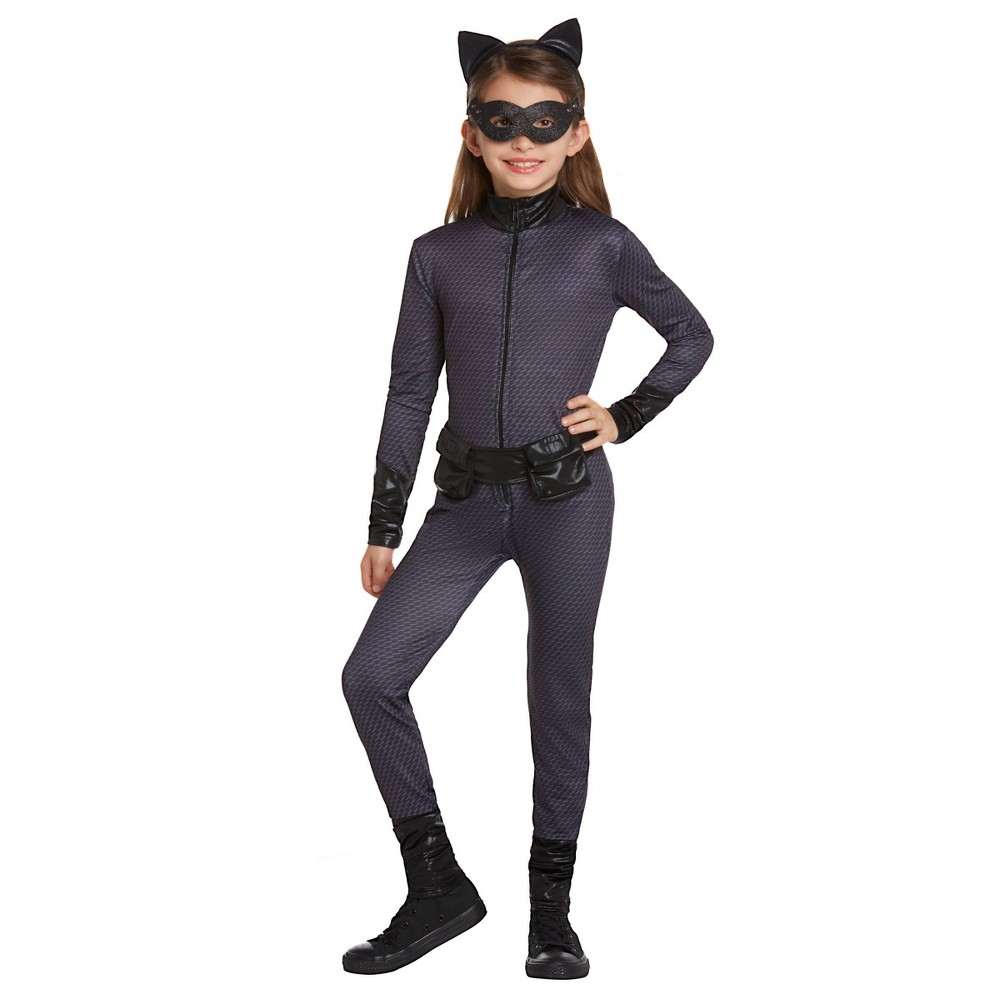 Image of Halloween Womens' DC Comics Catwoman Halloween Costume L, Women's, Size: Large, Black