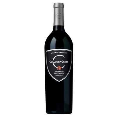 Columbia Crest Grand Estate Cabernet Sauvignon Red Wine - 750ml Bottle