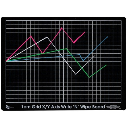 SI Double Graph Board, 12 L x 9 W inches, pk of 10 - image 1 of 1