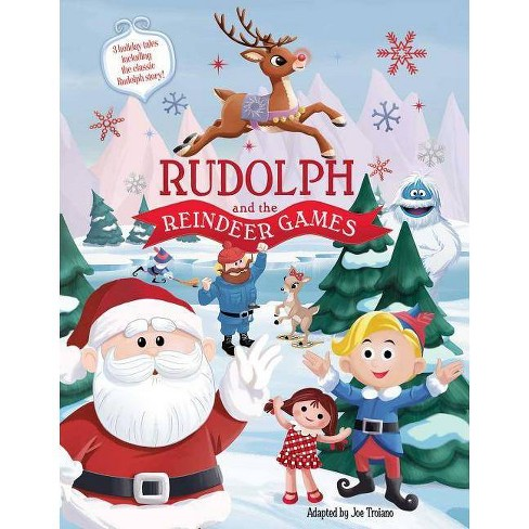 Rudolph And The Reindeer Games Hardcover Target