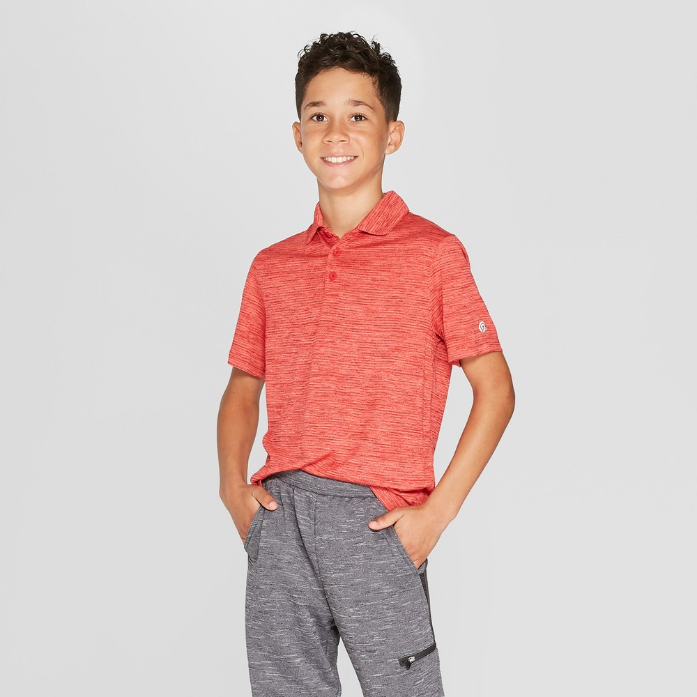 Image of Boys' Golf Polo Shirt - C9 Champion Red S, Boy's, Size: Small